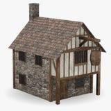 средневековая харчевня Стоковая Фотография RF