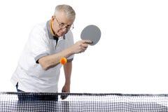 乒乓球来 免版税库存照片