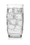 стекло заморозило минеральную вода Стоковые Изображения RF