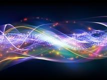 световая волна Стоковая Фотография RF