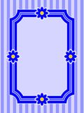 нашивка рамки цветка Стоковые Фотографии RF