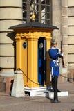 φρουρά βασιλική Στοκχόλμη Στοκ Φωτογραφία