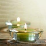 芳香蜡烛 免版税库存照片