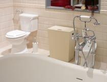 ванна украшает интерьер Стоковые Фото