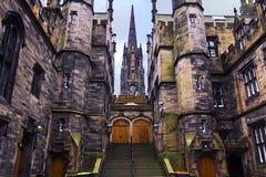 爱丁堡大学 免版税库存图片