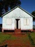 房子老白色 库存照片