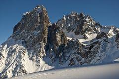 верхняя часть горы Стоковая Фотография
