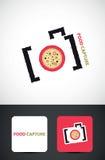 照相机创造性的徽标 图库摄影