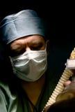 麻醉学者 库存图片