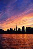 πόλη Μανχάτταν Νέα Υόρκη Στοκ Εικόνες