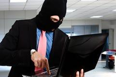 行业间谍活动 免版税库存图片