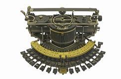 παλαιά γραφομηχανή Στοκ φωτογραφία με δικαίωμα ελεύθερης χρήσης