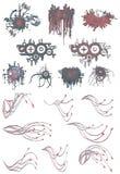 современные элементы Стоковое Изображение RF