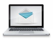 概念邮件 库存照片