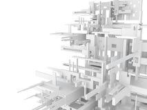 τρισδιάστατη αφηρημένη ανασκόπηση γεωμετρική Στοκ Εικόνα
