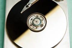 内部艰苦的磁盘驱动器 库存照片
