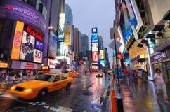 曼哈顿时代广场 库存图片