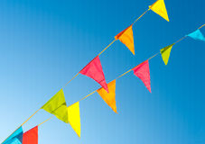 флаги овсянки Стоковое Фото