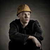 工作者年轻人 免版税图库摄影