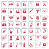 εικονίδιο ιατρικό Στοκ Εικόνα