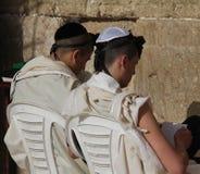 西部耶路撒冷的哭墙 免版税库存照片