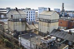 νέος παλαιός του Τζέρσεϋ εργοστασίων Στοκ Εικόνες