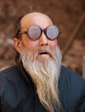 老中国男性人 免版税图库摄影