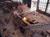 επισκευάστε τη ναυπηγική σκαφών Στοκ Εικόνες