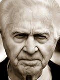 несчастное человека старое Стоковые Фото