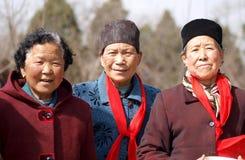 老农村妇女 免版税库存图片