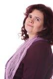 постаретая средняя женщина Стоковое Изображение RF