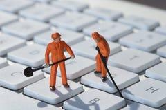计算机维修服务 图库摄影