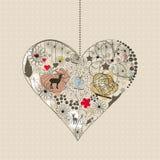 καρδιά φυσική Στοκ εικόνα με δικαίωμα ελεύθερης χρήσης