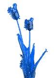 стекло цветка Стоковая Фотография
