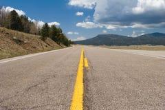 раскройте дорогу Стоковая Фотография RF