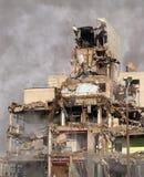 都市的破坏 库存照片