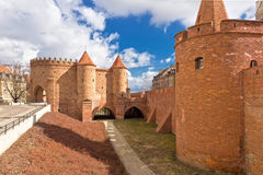 波兰视域 库存照片