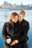 νεολαίες ζευγών Στοκ εικόνες με δικαίωμα ελεύθερης χρήσης