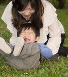 κινεζικές οικογένειες Στοκ Εικόνα