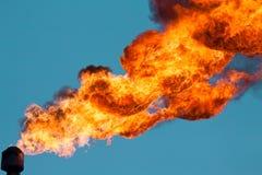 επικεφαλής φανοί αερίου περιβλημάτων Στοκ Εικόνες