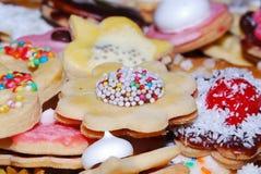 το μπισκότο τρώει Στοκ Εικόνες
