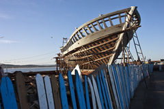 αλιεία κατασκευής βαρκών Στοκ φωτογραφία με δικαίωμα ελεύθερης χρήσης