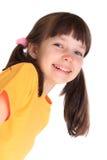 女孩愉快的年轻人 图库摄影