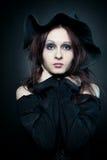 όμορφη μάγισσα Στοκ φωτογραφία με δικαίωμα ελεύθερης χρήσης