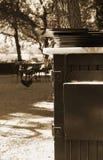 мраморные меню штабелируют таблицу Стоковая Фотография RF