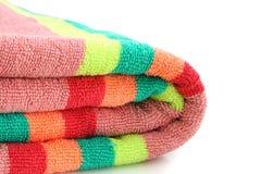 полотенце пляжа Стоковое фото RF