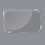 构成玻璃例证可实现的向量 图库摄影