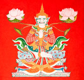角度泰国图画的样式 库存图片