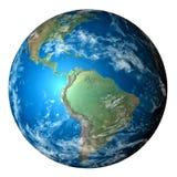可实现地球的行星 免版税库存图片