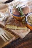 посоленный рис торта Стоковые Фото